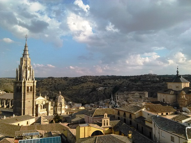 Views of Toledo´s Cathedral